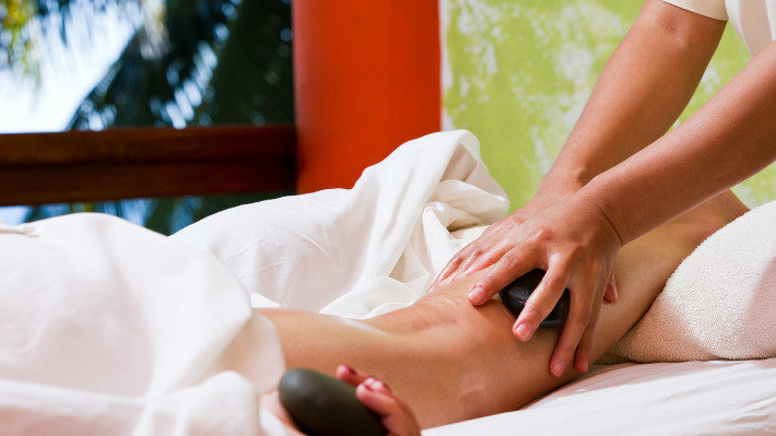 Stressed? Try a Hot Stone Massage!
